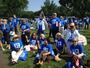 Members travel to D.C. to rally for homeownership!